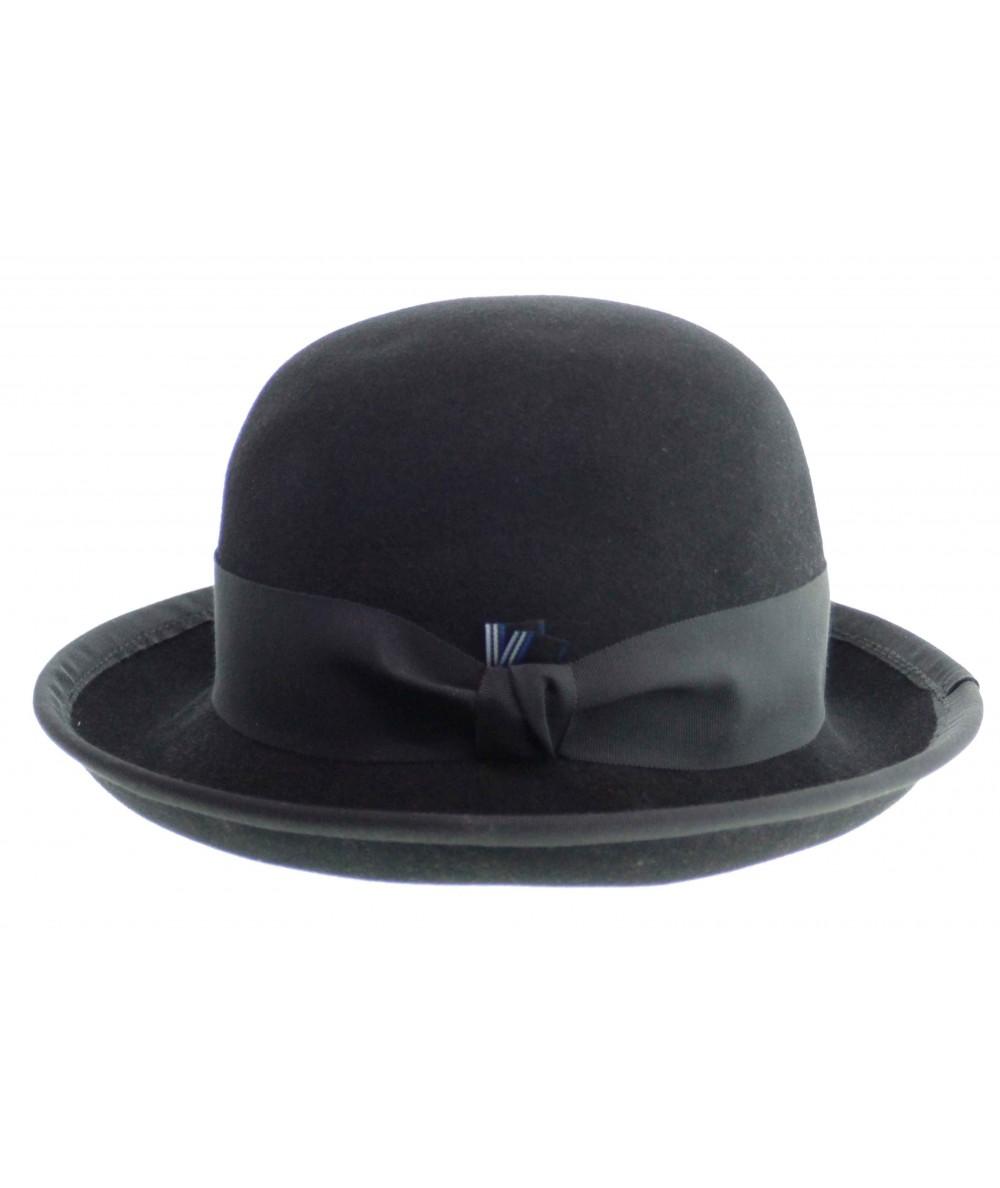 HT6391 mens black bowler hat