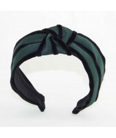 GV10 Hunter Green with Black headband turban