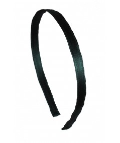 Billiard Satin Narrow Headband