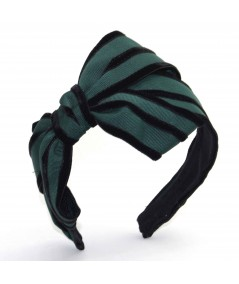 GV11 Forest with Black View 2 headband bow
