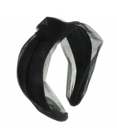 Black headband turban