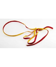 VV50 Yellow Gold Dark Red headband