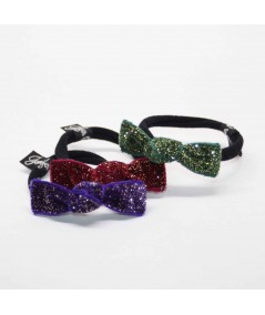 PY677 Purple, Wine and Green Bottle ponytail holder hair elastic
