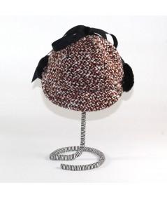 HT521 Pumpkin Pie with Black flap cap