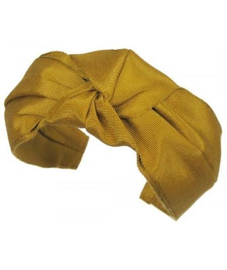 Goldenrod Grosgrain Turban Headband