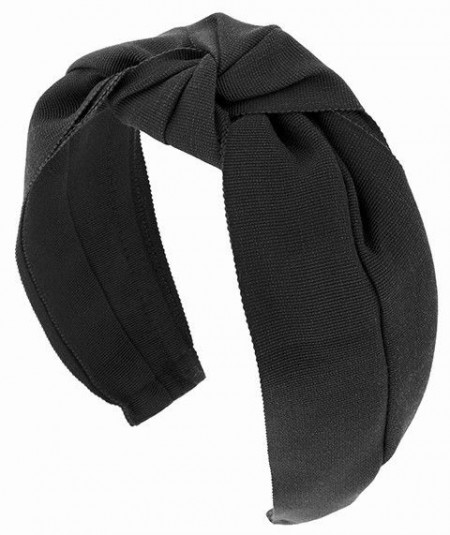 Black Grosgrain Turban