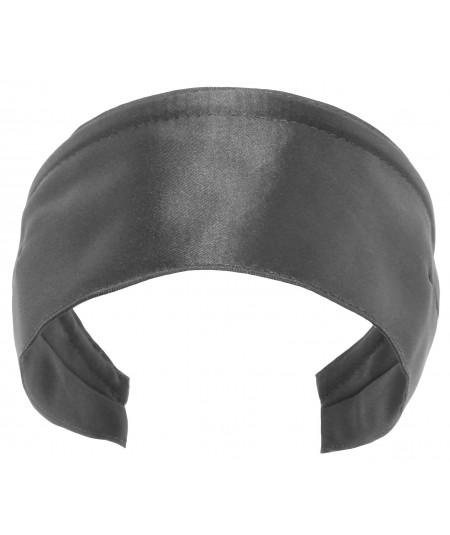 Basic Extra Wide Satin Headband - Elephant