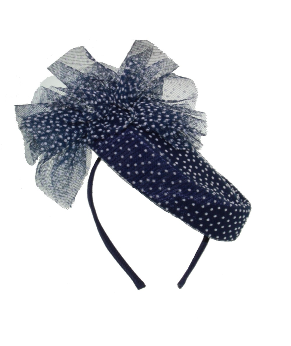 Dotted Tulle Headpiece