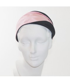 Pale Pink Black bengaline-wide-headband-with-contrast-detail
