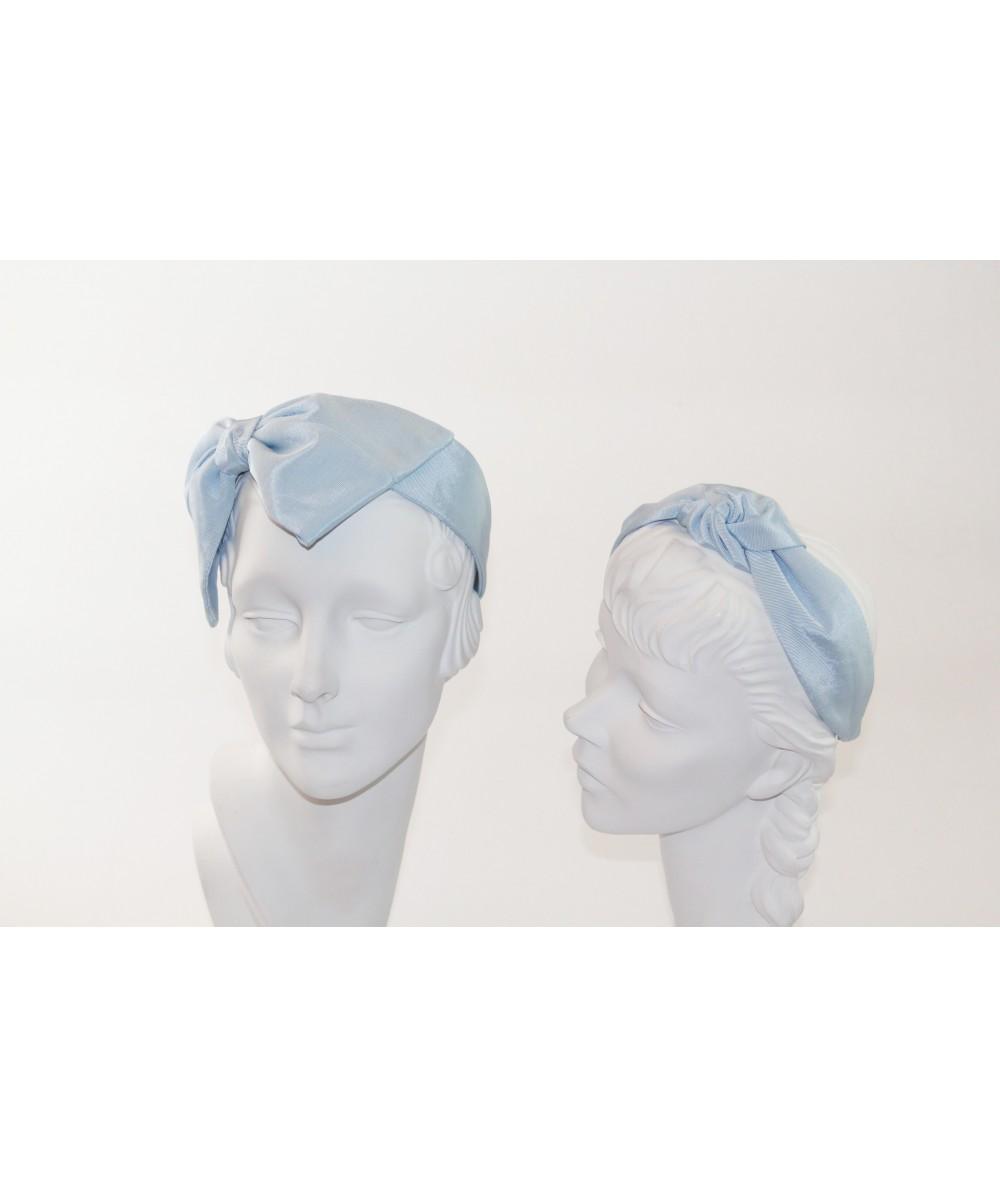 Pale Blue Bengaline Blair Center Turban Headband with BE26 Pale Blue