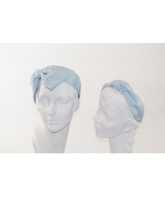 Pale Blue Bengaline Blair Center Turban Headband with BE26 Pale Blue