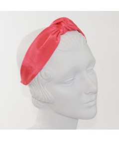 Coral Bengaline Blair Center Turban Headband