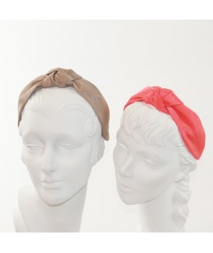 Pecan Coral Bengaline Blair Center Turban Headband