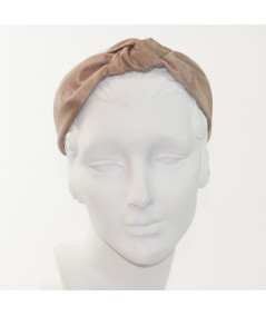 Pecan Bengaline Blair Center Turban Headband