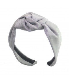 Steel Grey Bengaline Blair Center Turban Headband