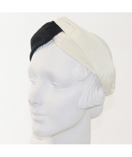 Black Ivory Bengaline Two-Toned Turbanista
