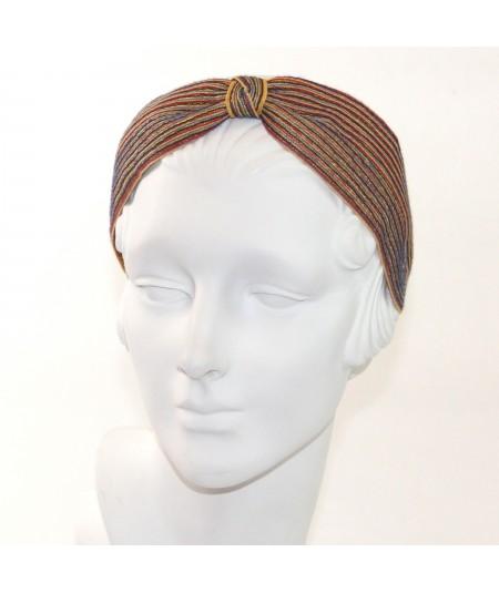 Arcade color-stitch-straw-turban
