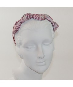 Lupe Straw Knot Millinery Headpiece
