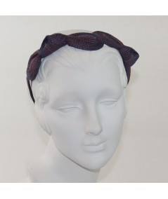 Painter Straw Knot Millinery Headpiece