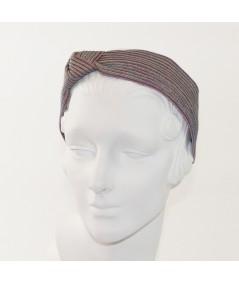 Metro Colored Stitch Side Knot Headband