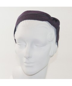 Surreal Colored Stitch Side Knot Headband