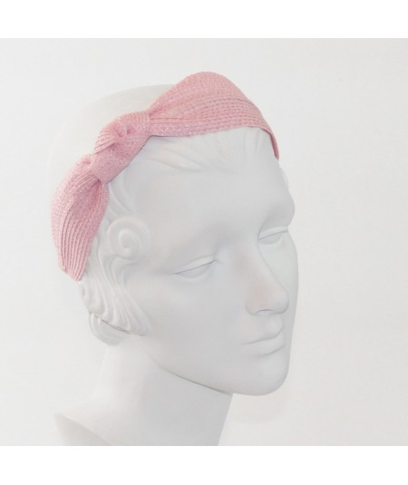 Straw Side Turban Headband