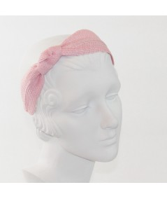 Straw Side Turban Headband
