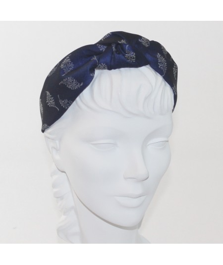 Feather Print Blair Turban Heaband
