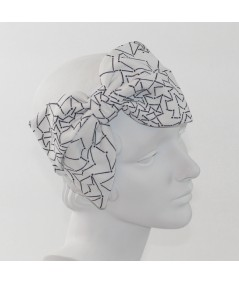 Printed Large Bow Headband