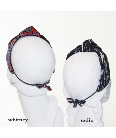 Printed Blair Turban Headband with Elastic
