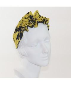 Sting Ruffle Silk Headband