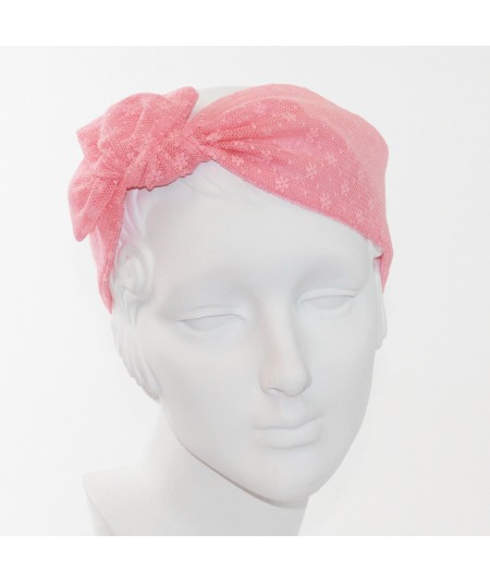 Flower Net Head Wrap