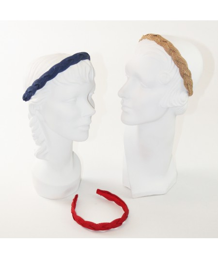 Straw Braided Headband