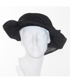 Pagalina Straw Scalloped Hat