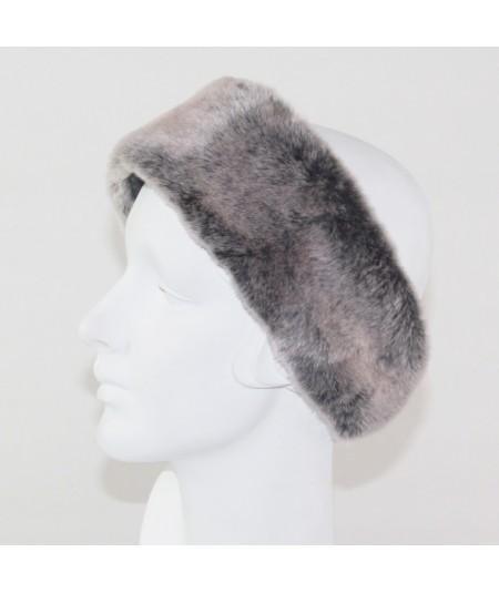 Earmuff Faux Fur - Grey