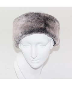 Earmuff Faux Fur - Grey