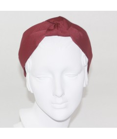 Wine Classic Extra Wide Grosgrain Turban Headband