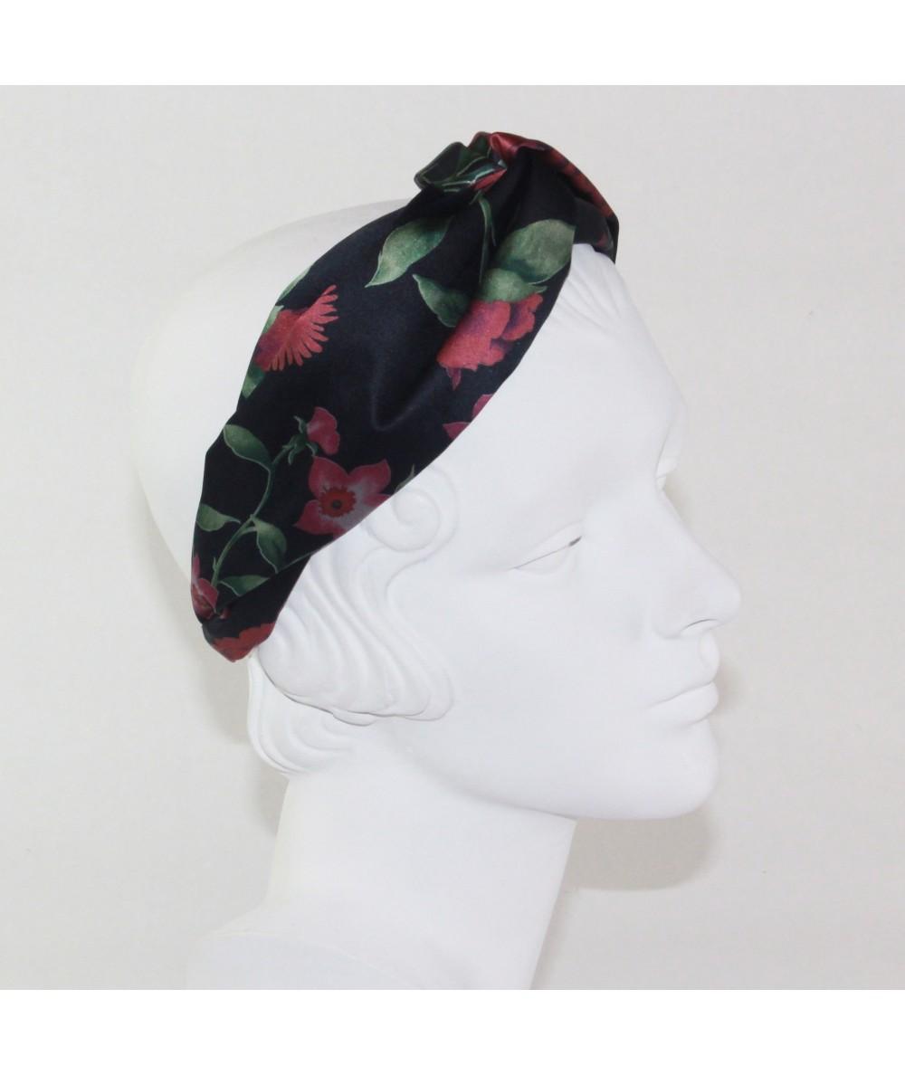 Floral Silk Print Turbanista