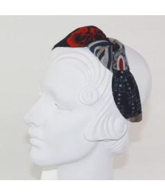 Print Patch Side Turban Headband