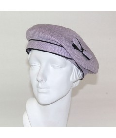 Pagalina Beret Hat with Side Bow