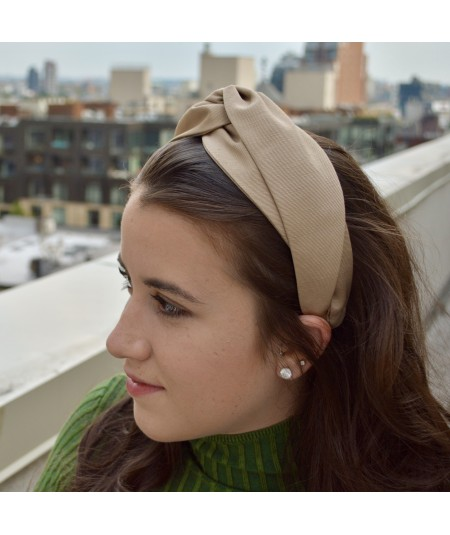 Pecan Bengaline Turbanista Headband