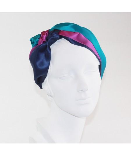 Caribbean Turban Headband by Jennifer Ouellette
