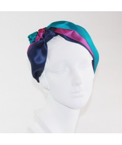 SOPHIA Satin Turban Headpiece