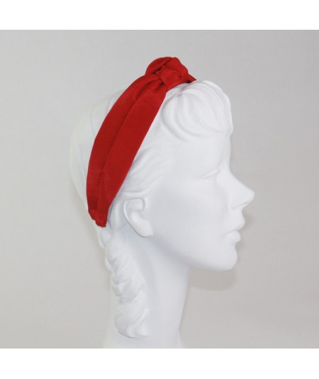 Cardinal Bengaline Center Turban Headband