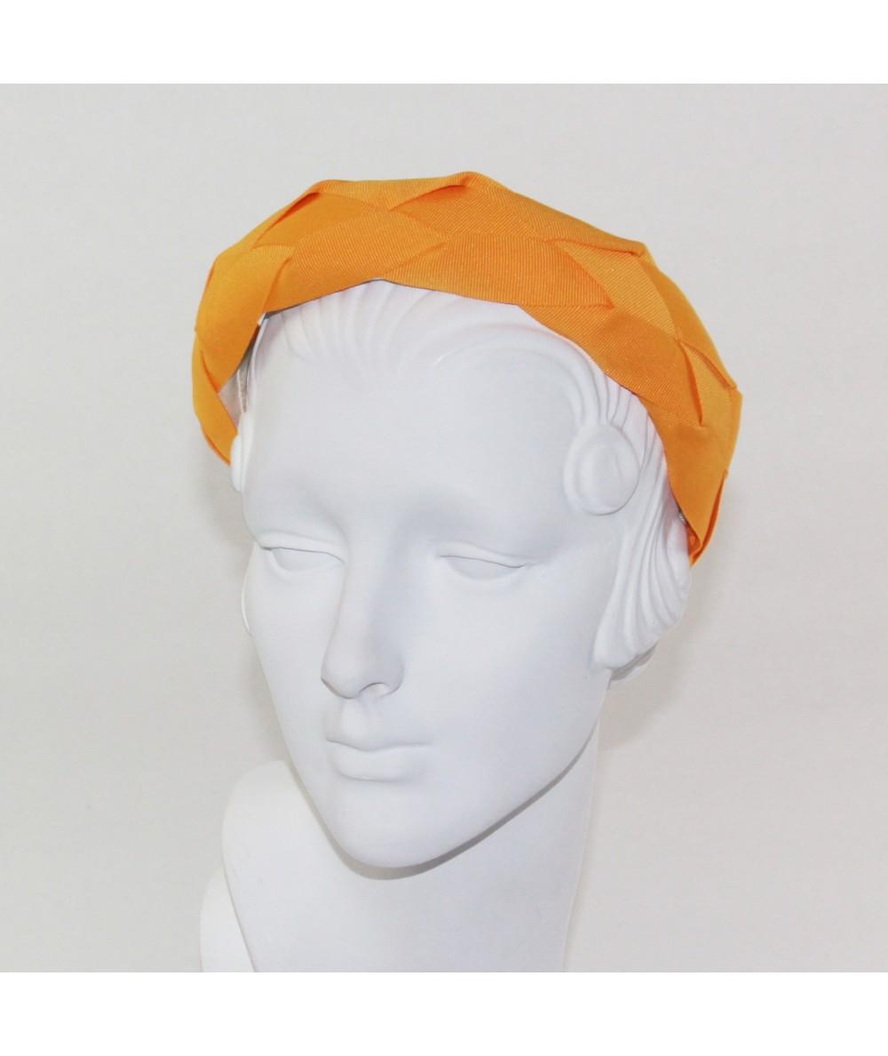 Gold Braid Headband by Jennifer Ouellette