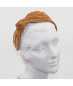 Amber Corduroy Side Turban Headband