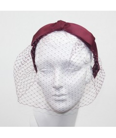 Rogue Satin Bow Face Veil