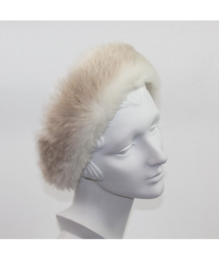 Faux Fur Two Toned Earmuff