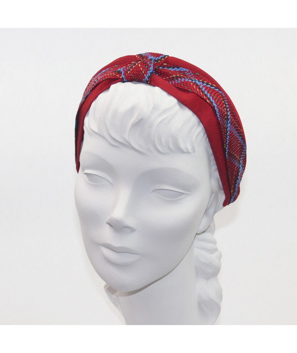 Braid with Bengaline Turban Headband