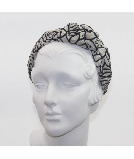 Printed Flower Side Detail Headband